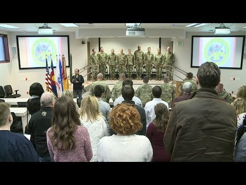 Colorado National Guard troops being deployed to Afghanistan