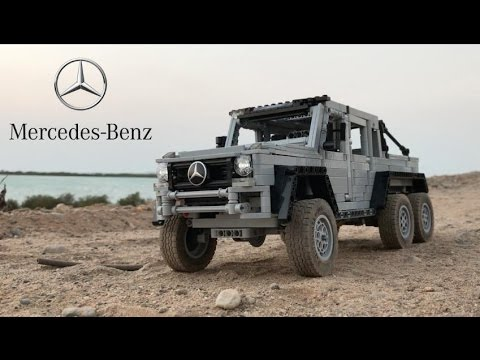 lego technic mercedes benz g63 6x6 youtube. Black Bedroom Furniture Sets. Home Design Ideas