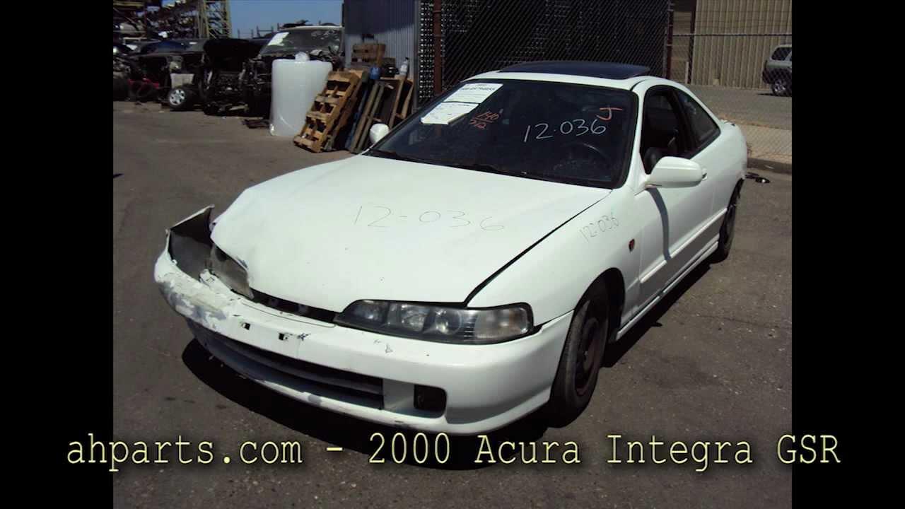 ACURA INTEGRA GSR Parts AUTO WRECKERS RECYCLERS Ahpartscom - 2000 acura integra parts