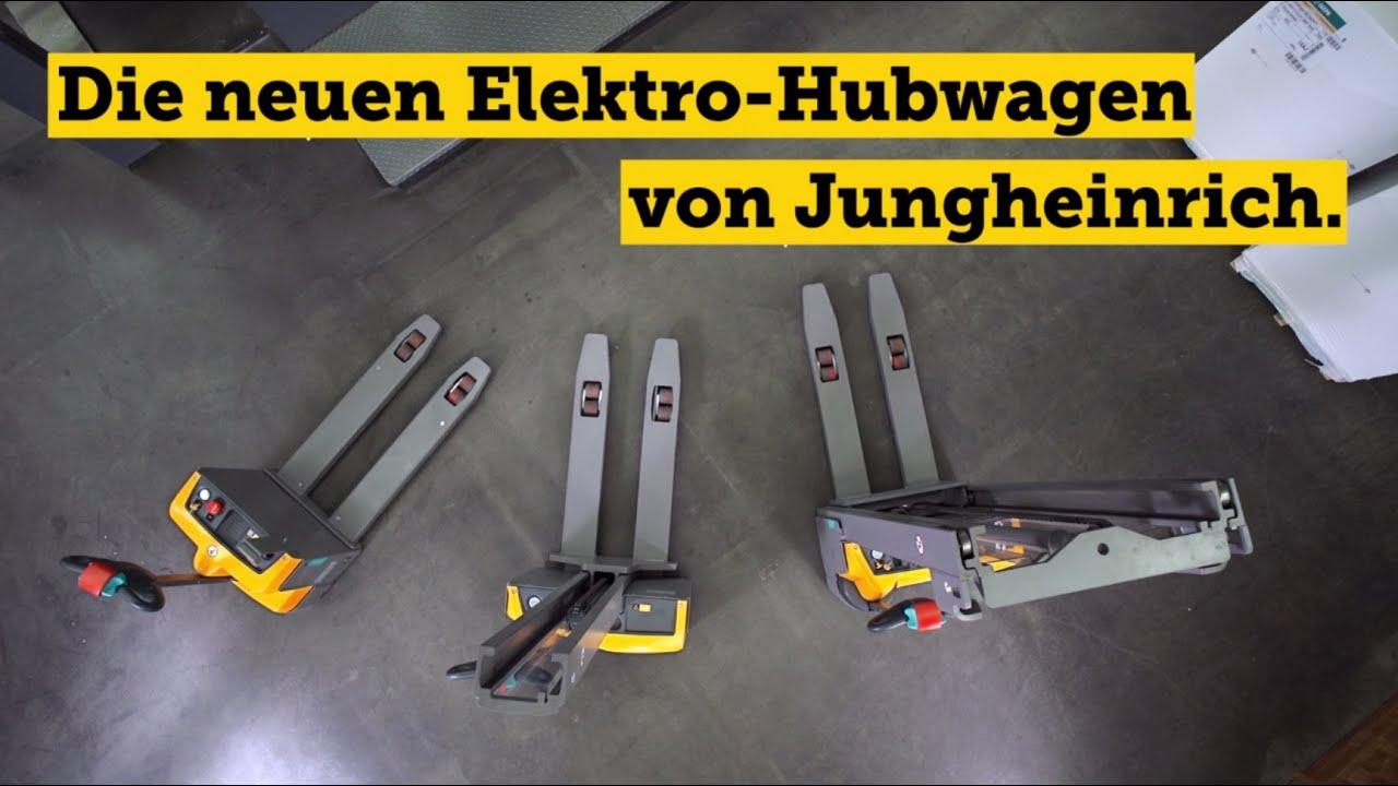 Die neuen Jungheinrich Elektro-Hubwagen: Ihre Mitarbeiter des Monats. Jeden Monat.