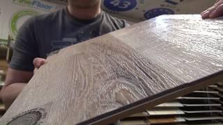 Обзор виниловая плитка ПВХ Fine floor Rich 2017г! Водостойкий ламинат на кухню. Виниловый пол