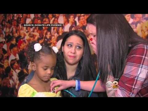 Donor Mother Hears Son's Beating Heart Inside Little Girl Whose Life He Saved