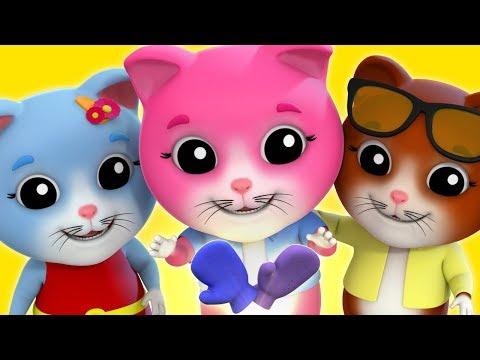 Three Little Kittens   Nursery Rhyme   Baby songs   Kids Rhymes by Farmees S02E108