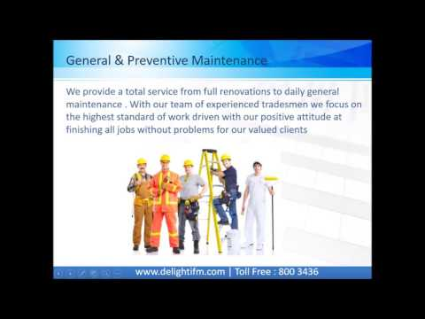 Facilities Management Abu Dhabi, UAE | General Maintenance Dubai