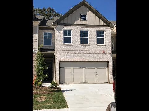 New Construction Townhomes In Lawrenceville GA 3/2/1 Under $225K