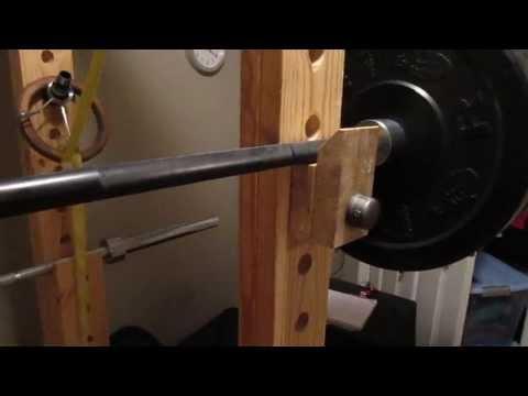 Homemade Power Rack - Racking Option