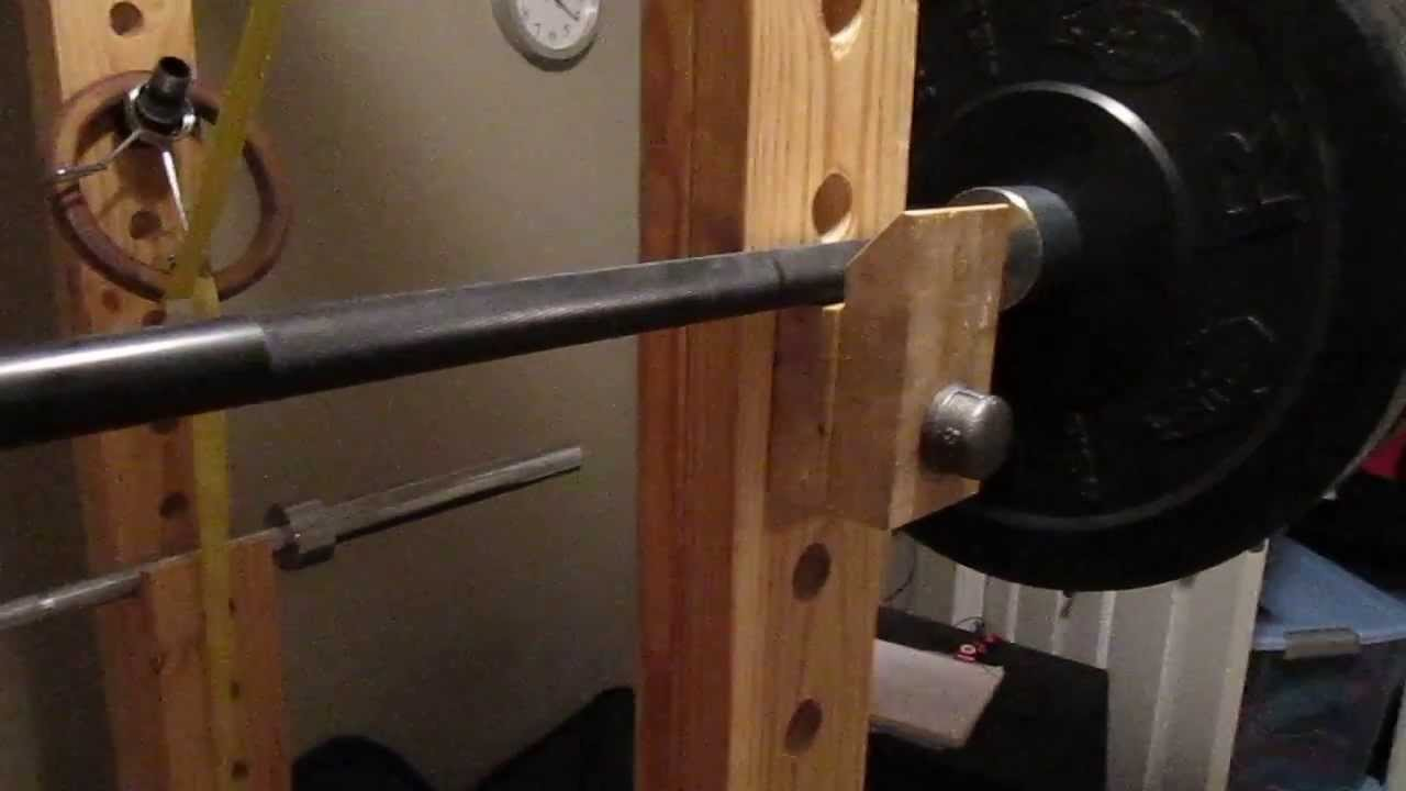 Homemade Power Rack Racking Option Youtube