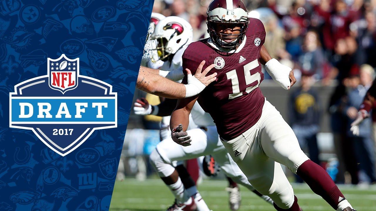Myles Garrett College Highlights & 20 NFL Draft Profile   NFL