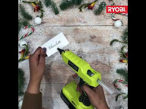 Ryobi Winter Crafts: Make Your Own Place Card Holders!