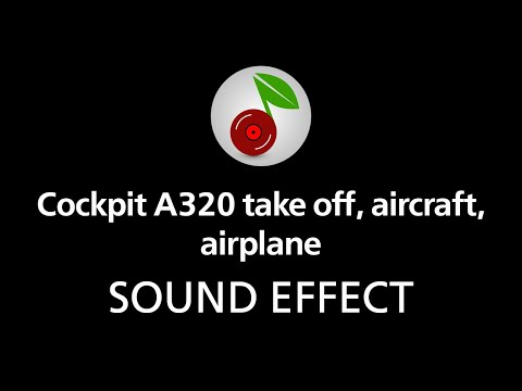 🎧 Cockpit A320 take off aircraft airplane SOUND EFFECT