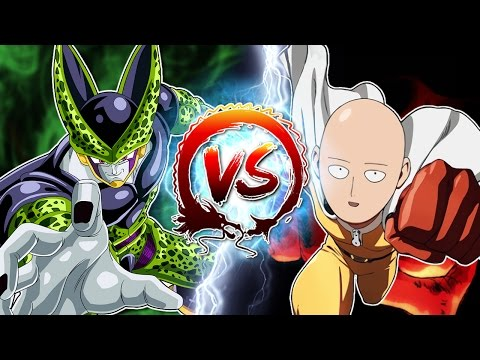 Dragon Ball Z Abridged: Cell Vs Saitama & Genos - edited by Innagadadavida