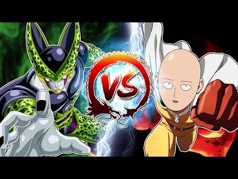 Dragon Ball Z Abridged: Cell Vs Saitama & Genos - edited by Innagadadavida