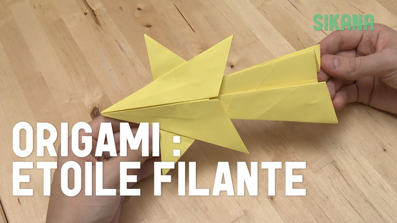 origami faire une toile filante en papier hd youtube. Black Bedroom Furniture Sets. Home Design Ideas