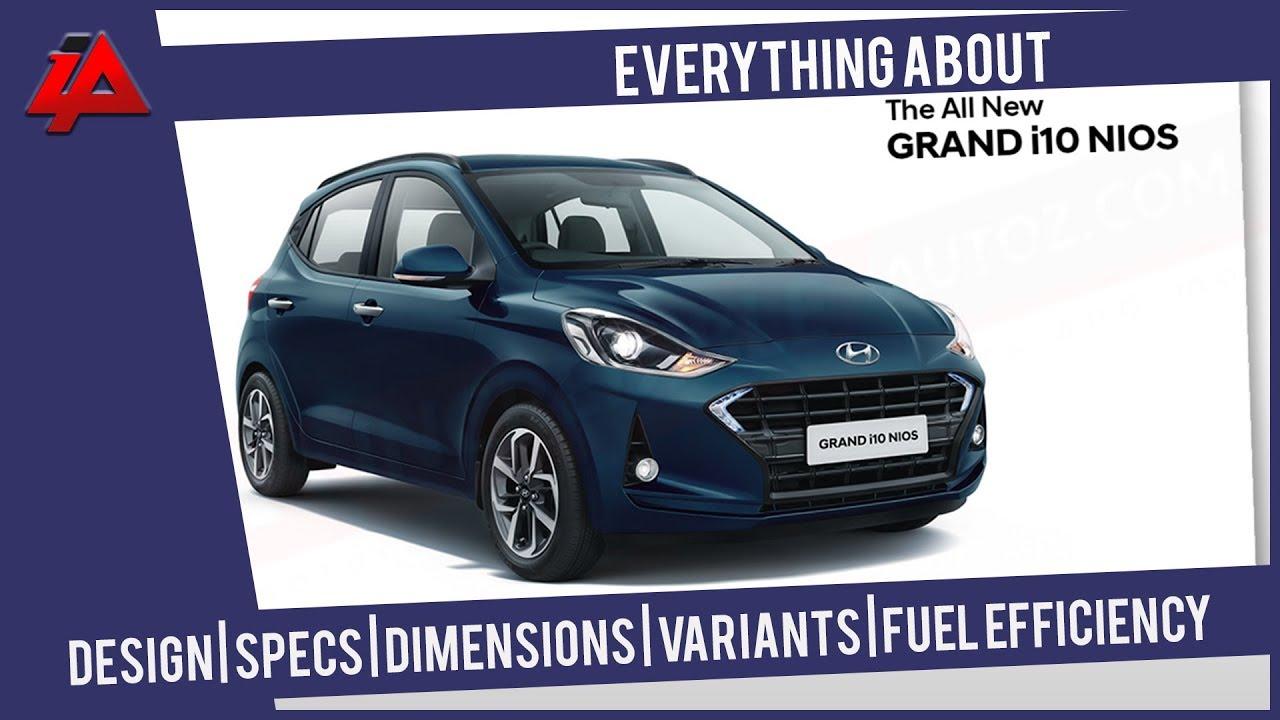 All New Hyundai Grand I10 Nios Specs Dimensions Fuel