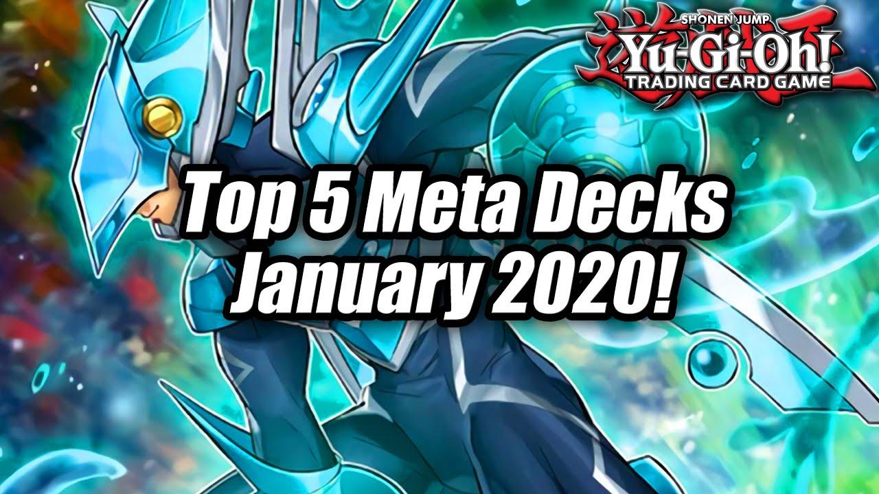 Yu Gi Oh Top 5 Meta Decks For The January 2020 Format Post New