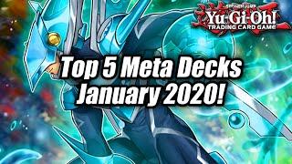 Yu-Gi-Oh! Top 5 Meta Decks for the January 2020 Format! (Post New Banlist)