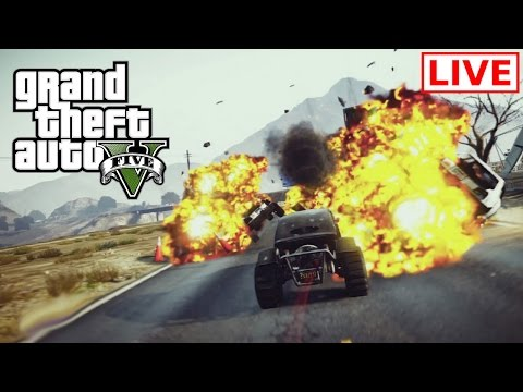 GTA Online: Livestream - Freeroam and Stunt Races with Chat #30