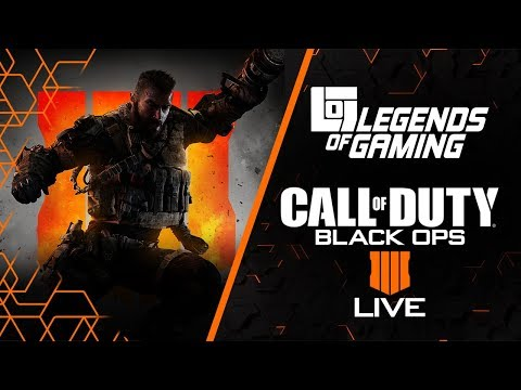 Call of Duty: Black Ops 4 LIVE
