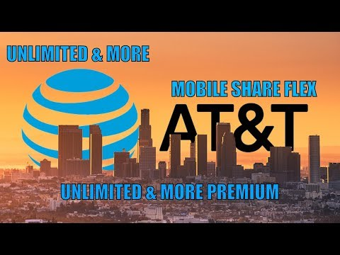 Understanding AT&T's Unlimited & More, Unlimited & More And Mobile Share Flex Plans| FREE LIVE TV!!!