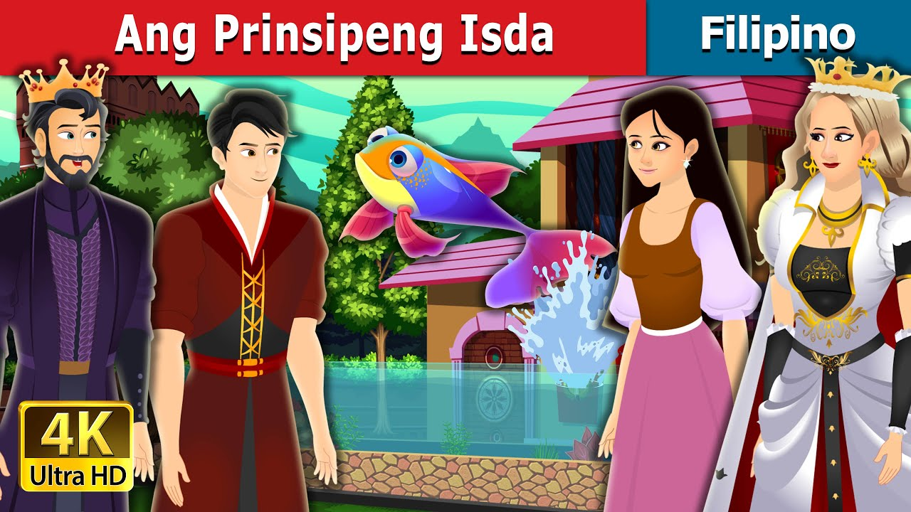 Ang Prinsipeng Isda | Fish Prince Story in Filipino | Filipino Fairy Tales