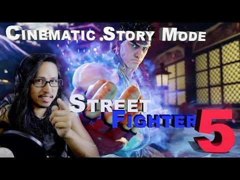 Street Fighter 5 Cinematic Story Mode