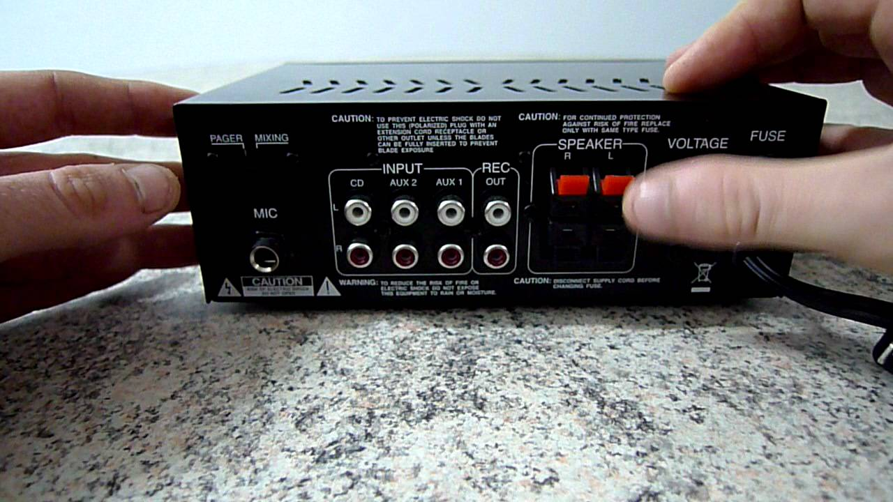 Pyle PTA2 Power Amplifier Review  YouTube