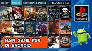 Cara main game PS 2 di Android [💯% work] No root