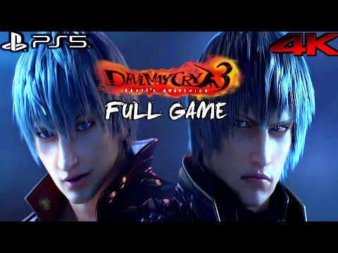Devil May Cry 3 Remastered (PS5) - Gameplay Walkthrough FULL GAME (4K 60FPS)
