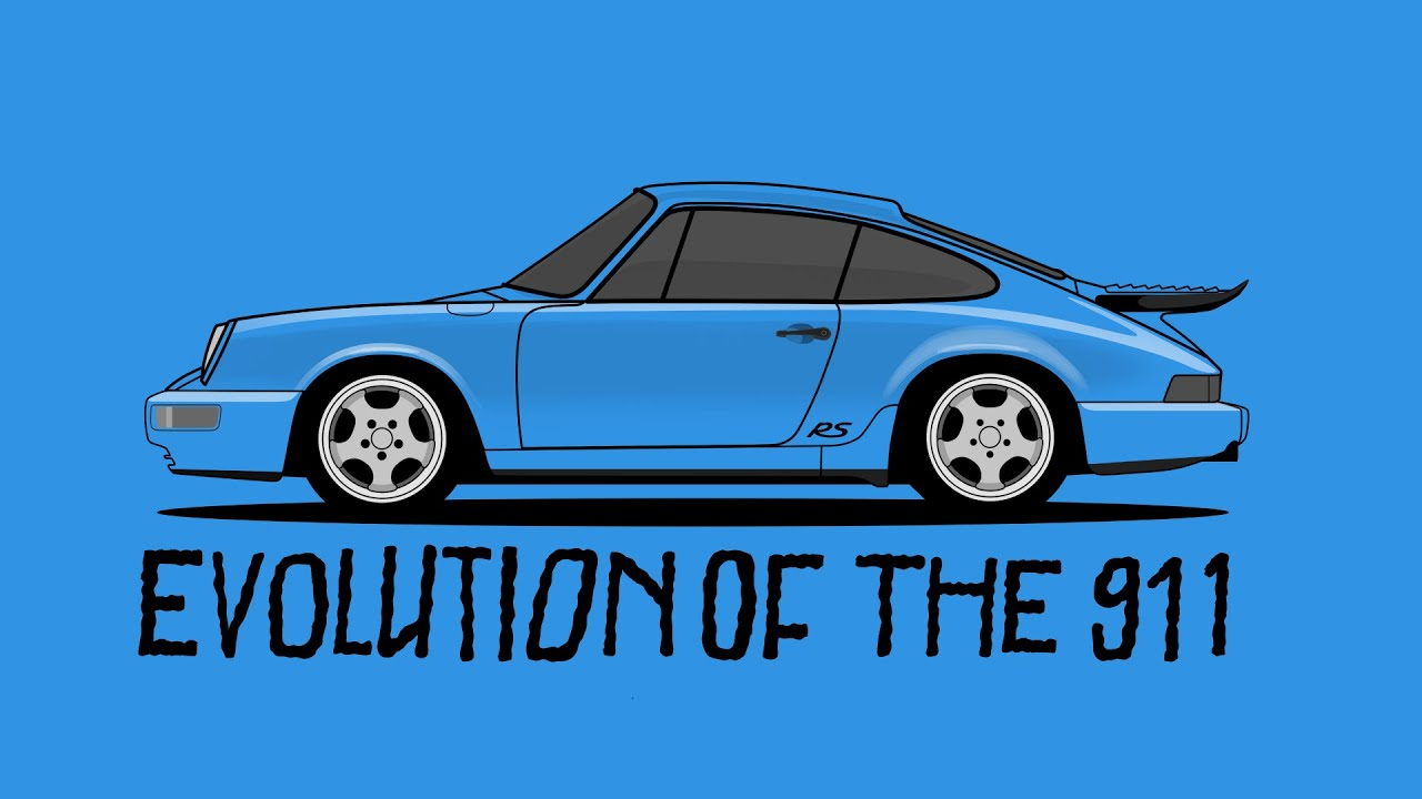Evolution of the Porsche 911 | Donut Media