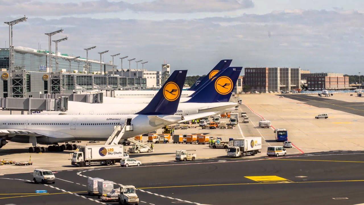 Flughafen Frankfurt Ankunft Condor