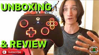 PowerA Spectra Enhanced Controller Unboxing & Review (For Xbox One and PC)