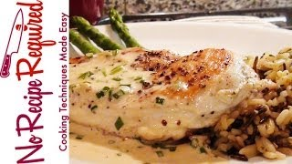 Chicken Breast With Mustard Cream Sauce - Noreciperequired.com