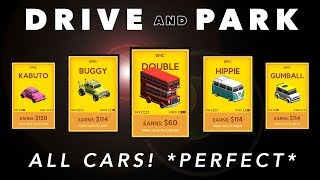 DRIVE AND PARK - ALL CARS UNLOCKED