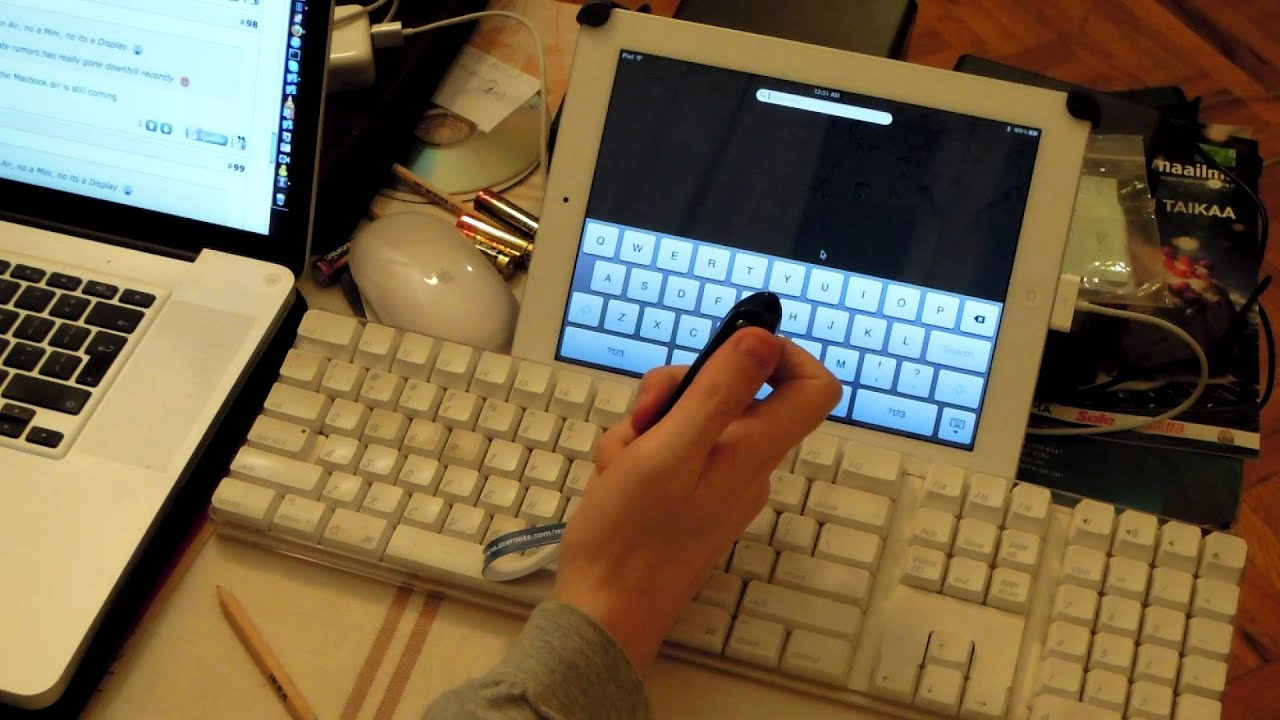 This is how you can make use of your Bluetooth gear (keyboard, mouse