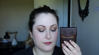 Nirvana Bourbon Fragrance Review and Makeup Look