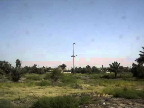 Baghdad, Iraq : George Bush flying to the Greenzone / International Zone (June 2006)