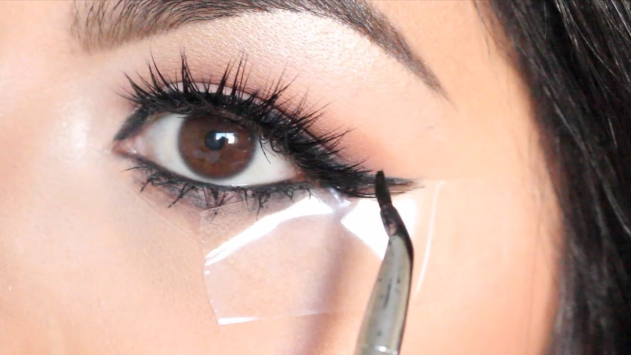 EASY Winged Eyeliner Using TAPE For BEGINNERS!  Beauty Tip Tuesday Ep. 12