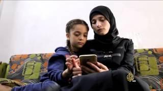بانا العابد طفلة سورية من حلب تحكي قصتها