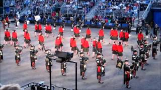 Edinburgh Military Tattoo 2012 -  Massed Pipes and Drums (3 of 3)