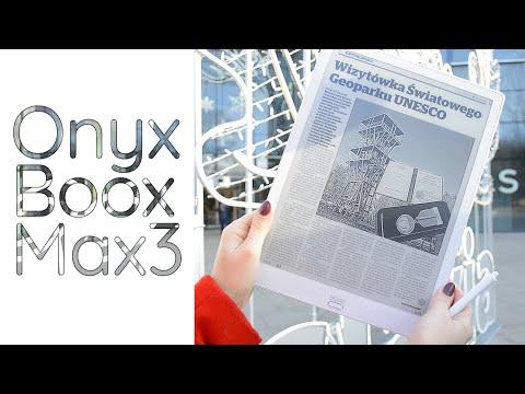 Onyx Boox Max 3- czyli najwyższa jakość i duży ekran