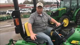 John Deere 3E Series Operation