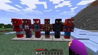 Download Como Ser Spiderman En Minecraft Spiderman