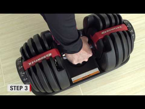 Video: Bowflex Selecttech Dumbbells