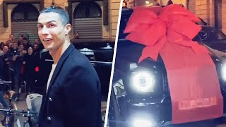 How much did the car Cristiano Ronaldo get for his birthday cost? | Oh My Goal