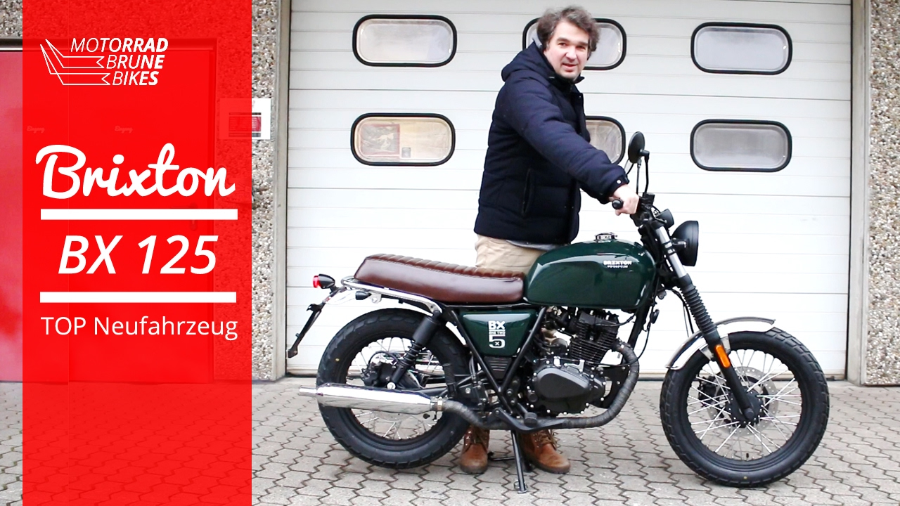 motorrad brune bikes brixton bx 125 neu eur youtube. Black Bedroom Furniture Sets. Home Design Ideas