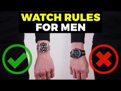 Watch Rules EVERY Guy Should Know | How To Wear A Watch | Alex Costa