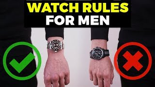 Watch Rules EVERY Gขy Should Know | How To Wear a Watch | Alex Costa