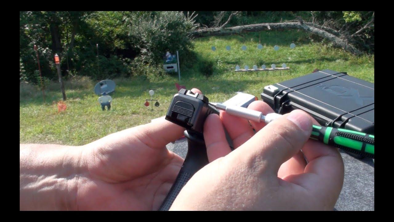 Como Ajustar las Miras de una Pistola, Revolver, Rifle, en Español ...