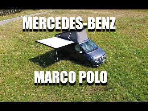 Mercedes-Benz Klasy V Marco Polo camper (PL) - room tour, walkaround, test