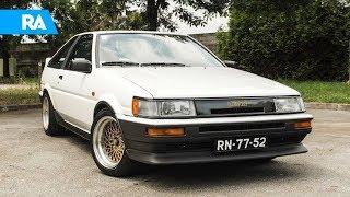 5 carros, 5 histórias. 50 anos da Toyota em Portugal